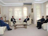 HÜDA PAR'dan Erbakan Vakfı'na ziyaret