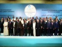 İİT İslam Zirvesi Konferansı Olağanüstü Toplatısı'nda ortak nihai bildiri açıklandı
