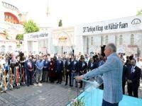 Başkan Uysal, 8 Yıl sonra Sultanahmet'te Kültür Fuarı açtı