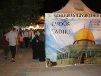 Kudüs için çadır açıldı