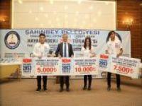 Kompozisyon yarışmasına katılan öğrenciler ödüllendirildi