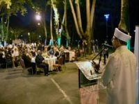 Erbaş, İstanbul Daru'l-Fünun İlahiyat Vakfının iftar programına katıldı