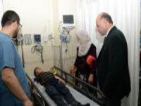 Erzurum'da öğrenci servisi devrildi: 14 yaralı