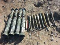 Hakurk'ta AT-4 tanksavar silahları ve RPG-7 antitank mühimmatları ele geçirildi