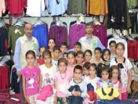 Umut Kervanı 200 yetim çocuğu giydirdi