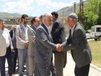 Yapıcıoğlu, Yağmur ailesine taziye ziyaretinde bulundu