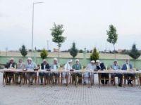 İttihadul Ulemadan STK ve kanaat önderlerine iftar yemeği
