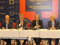 """Diyarbakır'da """"Yerel Medya Buluşması"""" yapıldı"""