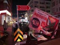 Saadet Partisi standına saldırı