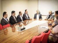 HÜDA PAR milletvekili adaylarından İHH'ya ziyaret