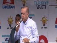 Erdoğan: Onlar yakar yıkar biz yaparız