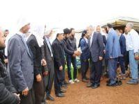 Yapıcıoğlu'ndan ilçe ve köylere ziyaret