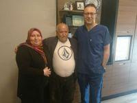 Kızı için 62 yaşında ameliyat oldu