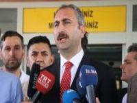 Bakan Gül'den hastane yangınına ilişkin açıklama