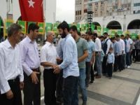 HÜDA PAR Mersin'de halkla bayramlaştı