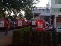 Özel hastaneden yangın açıklaması
