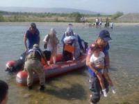 Suda mahsur kalan 23 kişi kurtarıldı