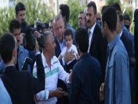 Cumhurbaşkanı Erdoğan, Milletvekili Yıldız'a taziye ziyaretinde bulundu