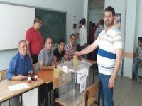 Oy verme işlemleri başladı