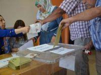 Diyarbakır'da oy verme işlemleri başladı