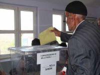 Van'da seçmenler oy kullanıyor