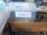 Hatalı oy kullanımı gerçekleşti