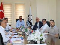 Aksoy, OSB Yönetim Kurulu toplantısına katıldı