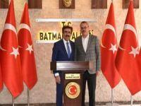 Diyarbakır Valisi Güzeloğlu, Vali Deniz'i ziyaret etti