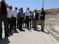 Aksoy, Emekli TOKİ'deki çalışmaları yerinde inceledi