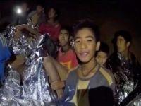Tayland'daki mağarada mahsur kalan tüm çocuklar kurtarıldı