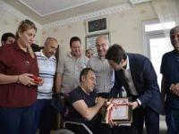 15 Temmuz gazisi Algan'a ev sürprizi