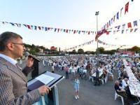 Üsküdar'da 15 Temmuz Şehitlerini anma etkinliklerinde duygulu anlar