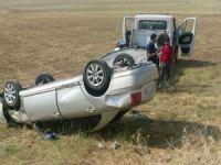 Mıcırlı yolda kazalar devam ediyor