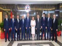 İTO'dan Ticaret Bakanı Ruhsar Pekcan'a ziyaret