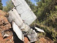 Gaziantep'te rokete ait olduğu değerlendirilen enkaz bulundu