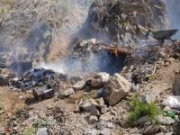 Hakkari'de PKK'ya ait sığınak tespit edildi