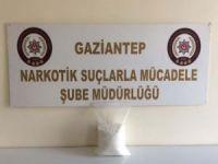 Gaziantep'te 2 kilo metamfetamin ele geçirildi