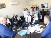 Ukrayna'nın Ankara Büyükelçisi Sybiha Mardin'de