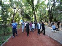 Gaziantep'te sağlıklı yaşam yürüyüşü