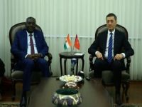 Milli Eğitim Bakanı Selçuk Nijerli mevkidaşıyla görüştü