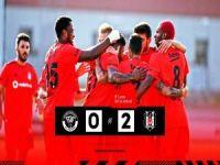 Beşiktaş avantajı kaptı: 0-2