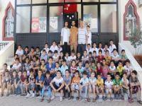 Kur'an öğrencilerinden gençlik merkezine büyük ilgi