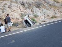 Nusaybin'de piknik yolunda kaza: 5 yaralı