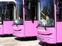 """TESSEP: """"Bayanlara özel pembe otobüsler hayata geçirilmeli"""""""