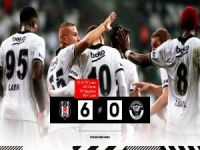 Beşiktaş rahat turladı: 6-0