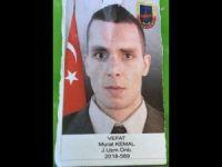 Siirt'teki kazada bir asker hayatını kaybetti