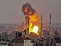 Siyonist rejim uçurtma uçuran Filistinlilere füze attı