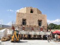 Hasankeyf'te Artuklu Hamamı taşınıyor