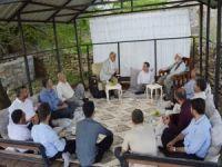 Yapıcıoğlu'dan kanaat önderi Kuşçu'ya ziyaret