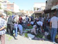 Midyat'ın yerli organik ürünlerine büyük ilgi